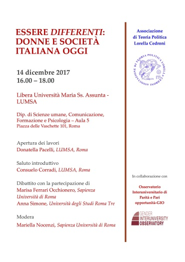 Essere differenti_Seminario 14dic2017